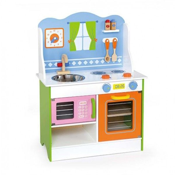 Trendy Angel Wooden Toy Kitchen