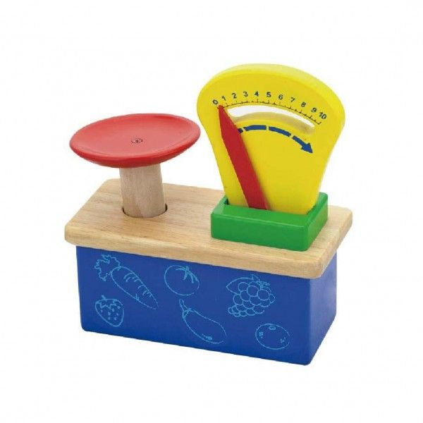 Wooden Weighing Scale